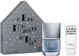 Parfumuri și produse cosmetice Issey Miyake L'Eau Majeure D'Issey - Set (edt/50ml + sh/g/100ml)