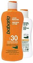 Parfumuri și produse cosmetice Set - Babaria Sun (protect/milk/200ml+protectlot/100ml)