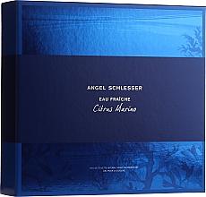 Parfumuri și produse cosmetice Angel Schlesser Eau Fraiche Citrus Marino - Set (edt/100ml+sh/gel/150ml)