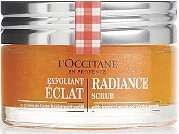 Parfumuri și produse cosmetice Scrub exfoliant pentru strălucirea pielii - L'Occitane Radiance Scrub