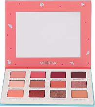 Parfumuri și produse cosmetice Paletă farduri de ochi - Moira Happy To Sea You Shadow Palette
