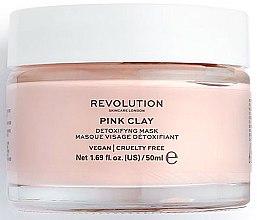 Parfumuri și produse cosmetice Mască-detox pentru față - Makeup Revolution Skincare Pink Clay Detoxifying Face Mask