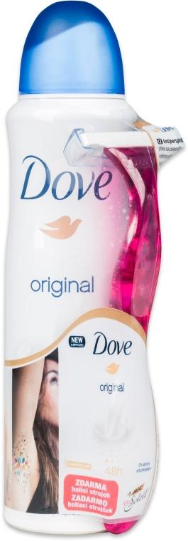 Set - Dove Original (deo/150ml + razor)