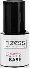 Parfumuri și produse cosmetice Bază pentru ojă de unghii - Neess Extremely Hard Base