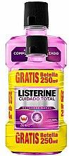 Parfumuri și produse cosmetice Set - Listerine Total Care (mouthwash/500ml+mouthwash/250ml)