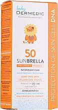 Parfumuri și produse cosmetice Cremă protecție solară, pentru copii - Dermedic Sunbrella Baby Sun Protection Cream SPF 50+