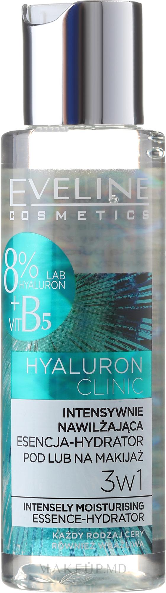 Esență pentru față, hidratantă - Eveline Cosmetics Hyaluron Clinic — Imagine 110 ml