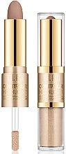 Parfumuri și produse cosmetice Iluminator pentru conturul feței - Milani Contour & Highlight Cream & Liquid Duo