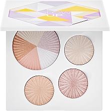 Parfumuri și produse cosmetice Paletă highlighter - Ofra Glow Up Highlighter Palette Multicolor
