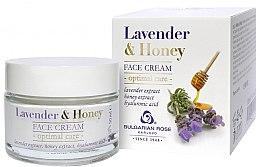 Parfumuri și produse cosmetice Cremă de față - Bulgarian Rose Lavender & Honey Cream