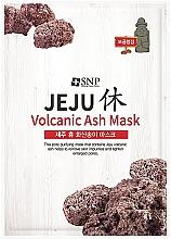 Parfumuri și produse cosmetice Mască cu cenușă vulcanică pentru curățarea tenului - SNP Jeju Rest Volcanic Ash Mask