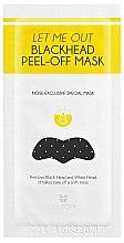 Parfumuri și produse cosmetice Patch pentru puncte negre - Mizon Let Me Out Blackhead Peel-Off Mask