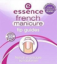 Parfumuri și produse cosmetice Шаблоны для французского маникюра - Essence French Manicure Tip Gu