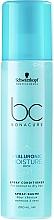Parfumuri și produse cosmetice Balsam spray hidratant pentru păr normal spre uscat - Schwarzkopf Professional Bonacure Hyaluronic Moisture Kick Spray Conditioner