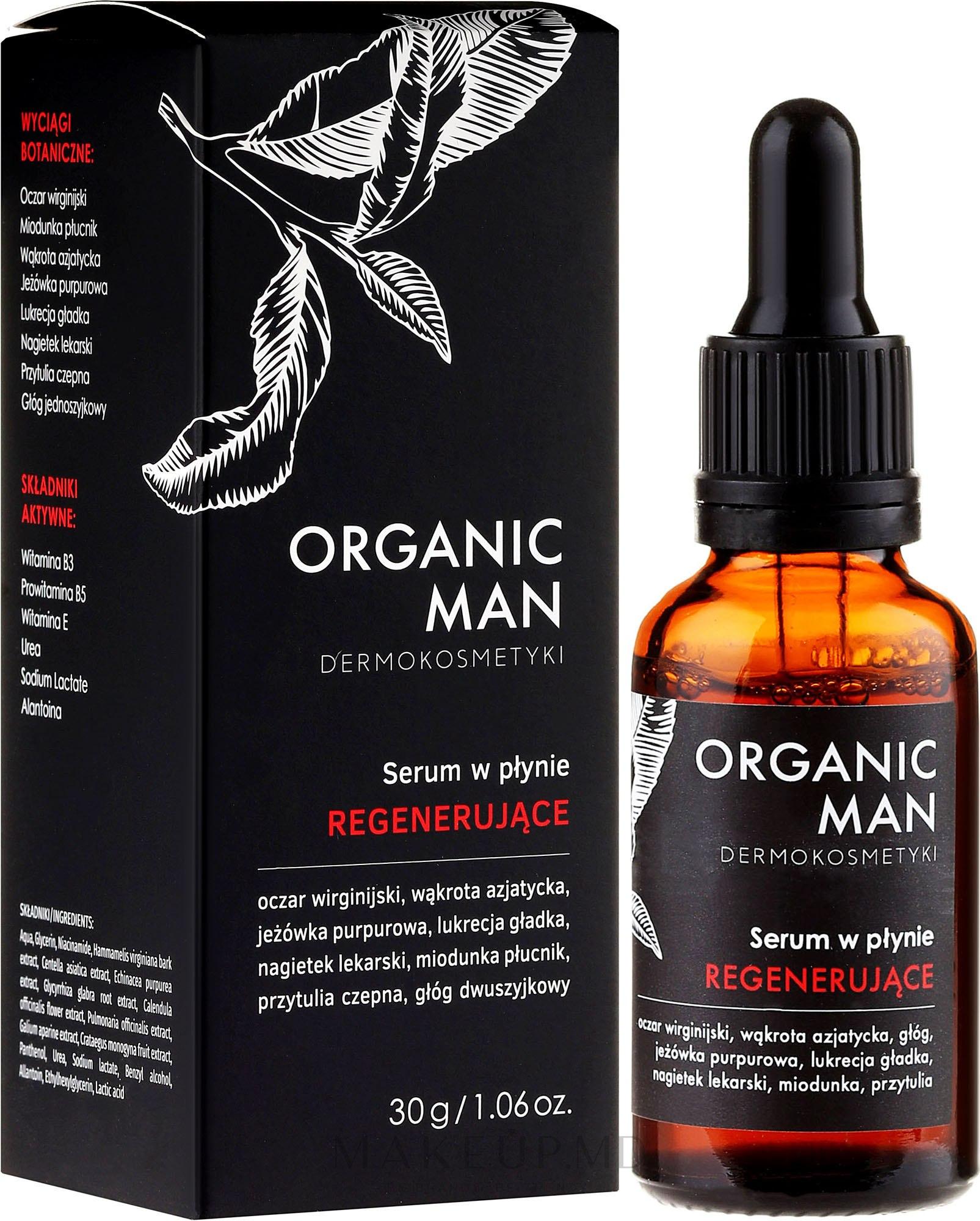 Ser facial - Organic Life Dermocosmetics Man — Imagine 30 ml