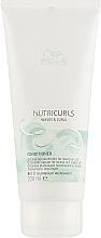 Parfumuri și produse cosmetice Balsam pentru păr ondulat - Wella Professionals Nutricurls Lightweicht Conditioner