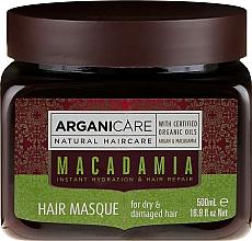 Parfumuri și produse cosmetice Mască ultra nutritivă și regenerantă pentru păr - Arganicare Silk Macadamia Hair Mask