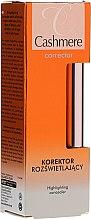 Parfumuri și produse cosmetice Iluminator anticearcăn - Dax Cashmere Corrector Highlighting Concealer
