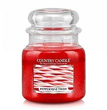 Parfumuri și produse cosmetice Lumânăre aromată  - Country Candle Peppermint Twist