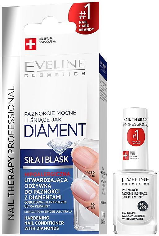 Tratament pentru întărirea unghiilor - Eveline Cosmetics Nail Therapy Professional