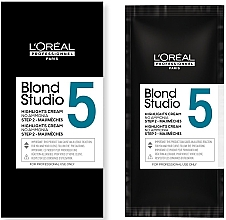 Parfumuri și produse cosmetice Крем для мелирования - L'Oreal Professionnel Blond Studio Majimeches 5 Amonnia Free Lightening Cream