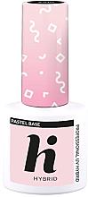Parfumuri și produse cosmetice Fixator de unghii - Hi Hybrid Pastel Base