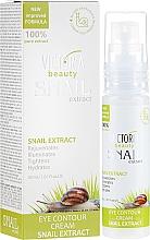 Parfumuri și produse cosmetice Cremă pentru zona ochilor cu extract de mucină de melc - Victoria Beauty Snail Eye Contour Cream
