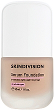 Parfumuri și produse cosmetice Ser-fond de ten - SkinDivision Serum Foundation