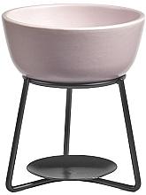Parfumuri și produse cosmetice Lampă aromaterapie - Yankee Candle Grey Lilac Pebble Wax Melt Warmer