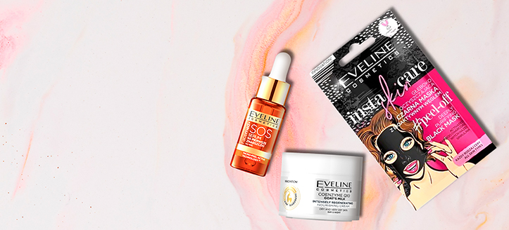 La achiziționarea produselor Eveline Cosmetics începând cu suma de 181 MDL, primești în dar