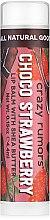 Parfumuri și produse cosmetice Balsam de buze - Crazy Rumors Chocolate Strawberry Lip Balm