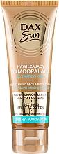 Parfumuri și produse cosmetice Autobronzant pentru ten deschis - DAX Sun Extra Bronze Self-Tanning Cream