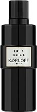 Parfumuri și produse cosmetice Korloff Paris Iris Dore - Apă de parfum