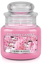 """Parfumuri și produse cosmetice Lumânare aromată """"Cireș înflorit"""" (borcan) - Country Candle Cherry Blossom"""