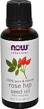 Parfumuri și produse cosmetice Ulei esențial de măceșe - Now Foods Essential Oils 100% Pure Rose Hip Seed Oil