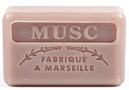 """Parfumuri și produse cosmetice Săpun de Marsilia """"Mosc"""" - Foufour Savonnette Marseillaise Musc"""