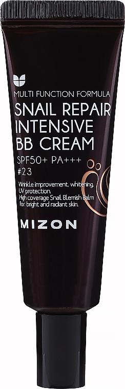 BB cremă cu mucină de melc SPF50 + PA +++ - Mizon Snail Repair Intensive BB Cream SPF50 + PA +++