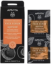 Parfumuri și produse cosmetice Scrub cu caise pentru față - Apivita Express Beauty Face Scrub Apricot