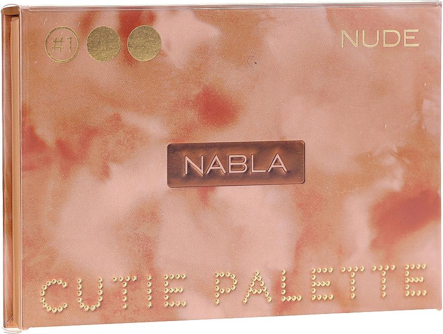 Paletă farduri de ochi - Nabla Cutie Collection Palette Nude