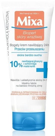 Cremă hidratantă pentru piele foarte uscată - Mixa Sensitive Skin Expert Anti-Dryness Cream — Imagine N1