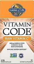 Parfumuri și produse cosmetice Supliment alimentar - Garden of Life Vitamin Code Raw Vitamin C