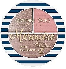 Parfumuri și produse cosmetice Paletă pentru sculptarea feței - Vivienne Sabo Mariniere Palette Contouring
