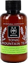 """Parfumuri și produse cosmetice Gel cu uleiuri esențiale pentru duș """"Ceai de munte tonifiant"""" - Apivita Tonic Shower Gel with Essential Oils (mini)"""