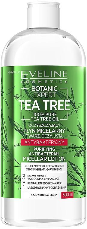 Apă micelară - Eveline Cosmetics Botanic Expert Tea Tree Miccelar Lotion