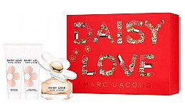 Parfumuri și produse cosmetice Marc Jacobs Daisy Love - Set (edt/50ml + sh/gel/75ml + b/milk/75ml)