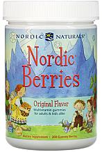"""Parfumuri și produse cosmetice Supliment alimentar în tablete masticabile """"Fructe de pădure nordice. Multivitamine"""" - Nordic Naturals Nordic Berries"""
