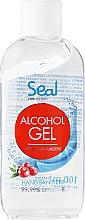 Parfumuri și produse cosmetice Gel antiseptic cu extract de merișor pentru mâini - Seal Cosmetics Alcohol Gel Hand Sanitizer