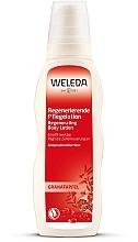 Parfumuri și produse cosmetice Lăptișor de regenerare pentru corp, cu rodie - Weleda Granatapfel Regenerierende Pflegelotion