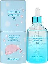 Parfumuri și produse cosmetice Ser cu acid hialuronic, în ampule - SeaNtree Hyaluron Ampoule 100
