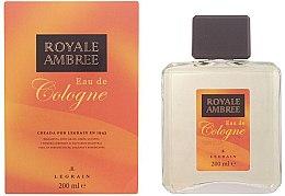 Parfumuri și produse cosmetice Legrain Royale Ambree - Apă de colonie